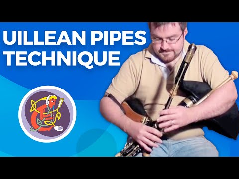 Intermediate Uilleann Pipes Lesson from Mikie Smyth for the Online Academy of Irish Music