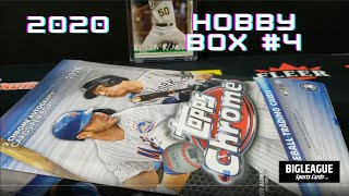2020 Topps Chrome Hobby Box #4