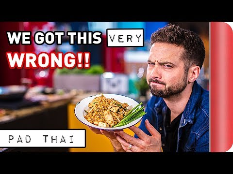 Can we correct our first Pad Thai recipe? | 2012 vs 2018