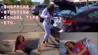 AFTER ONLINE  SCHOOL VLOG!! (DRIVING,SHOPPING, STUDYING,ETC.)