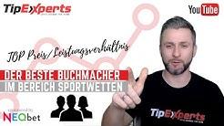 Bester Sportwettenanbieter / Buchmacher - Alle Vorteile auf einen Blick / Tip-Experts.com / Neo.Bet