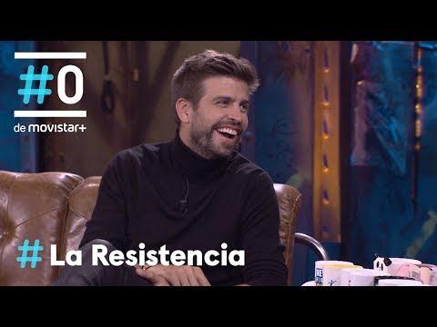 LA RESISTENCIA - Entrevista a Gerard Piqué   #LaResistencia 28.03.2019