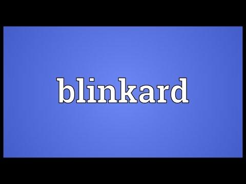 Header of blinkard