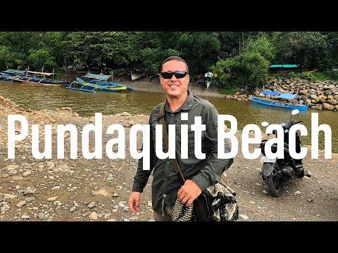 Subic Bay to San Antonio - Day 1 at Pundaquit Beach, Philippines