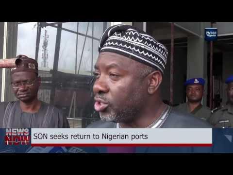 SON seeks return to Nigerian ports