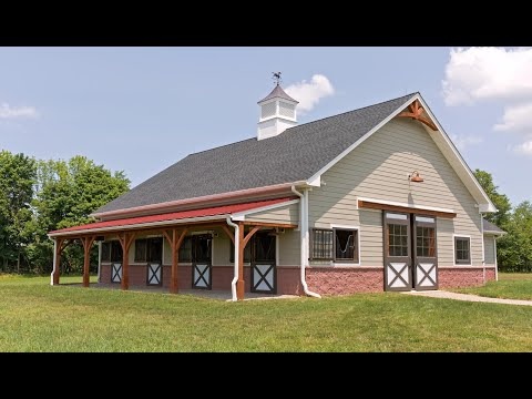 Horse Barn & Living Quarters in Pittstown NJ