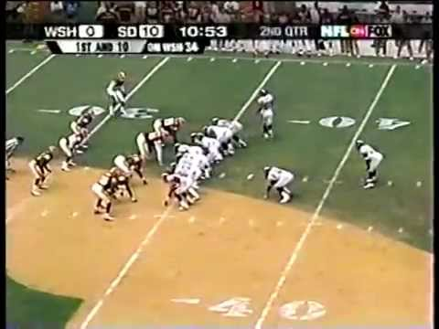 Redskins vs. Chargers, 2001
