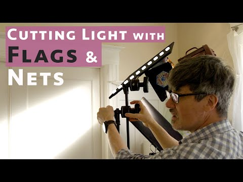 Basic Video Lighting: Using Flags And Nets To Cut Light