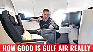 Review: GULF AIR's NEW A321LR NEO in FALCON GOLD CLASS!