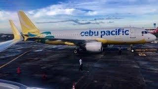 CEBU PACIFIC | MANILA-CEBU | ECONOMY CLASS | AIRBUS A320-200
