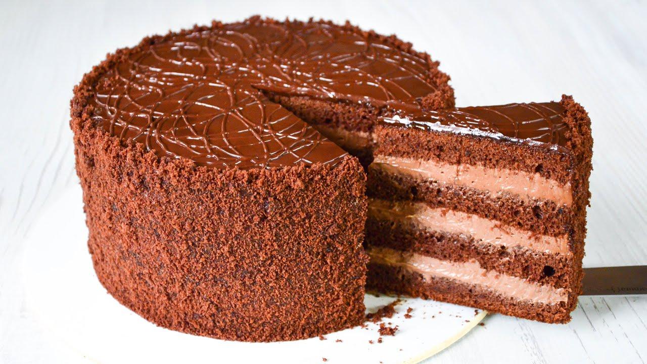 Торт ПРАГА ☆ Самый ВКУСНЫЙ ШОКОЛАДНЫЙ торт