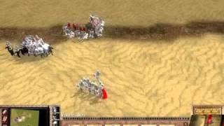 Stronghold 2 Crusader Battle of Mongisard Baldwin IV vs Saladin 1of4