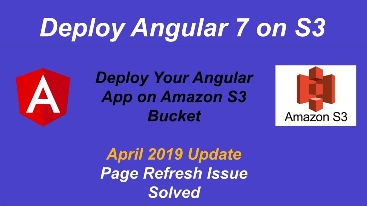 deploy angular app on aws s3