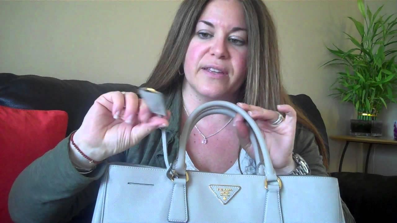 Prada Saffiano Luxe Tote Review and Comparison - YouTube