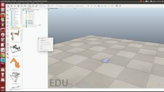 Building a simple robot in VREP and controlling it through ROS