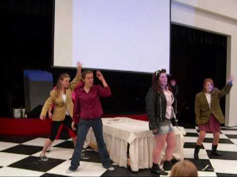 Behind the Scenes of Grease! (at Pau Wa Lu Middle School!)