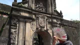 Fort Santiago, Manila Philippines with my Brother September 1, 2012
