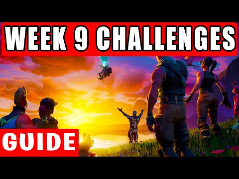 Week 9 leaked challenges Guide - Fortnite Chapter 2 Season 3