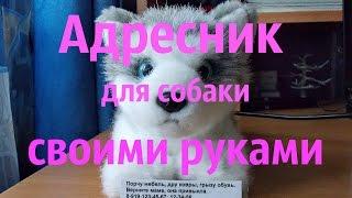 Адресник для собаки своими руками.(, 2016-04-25T20:28:01.000Z)