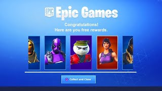 GLITCH (C) DO ALL THE SKINS, DANSES and PIOCHES OF FORTNITE GLITCH ON 'SWITCH/PS4/XBOX ONE/PC'!