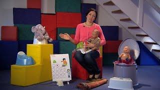 طرق تدريب الطفل على استعمال الحمام Potty Training-2