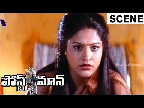 Soundarya confusion By Raasi - MS Narayana Irritated by His Wife - Postman Movie Scene