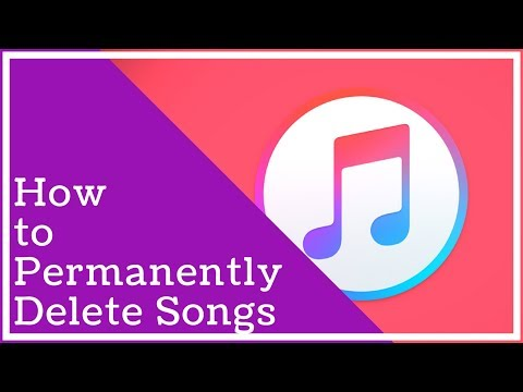 Itunes Tutorial - How To Permanently Delete Songs From Itunes - YouTube