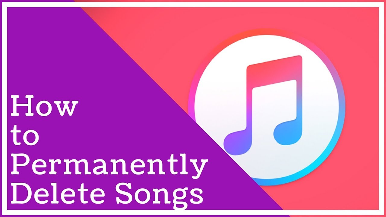 Itunes Tutorial  How To Permanently Delete Songs From Itunes