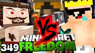 TODESKAMPF ZWISCHEN BRUNO & WINDELJOE! ✪ Minecraft FREEDOM #349 [ DEUTSCH ] | Paluten