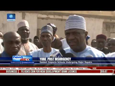 Yobe State Government Begins Rebuilding Of Damaged Schools