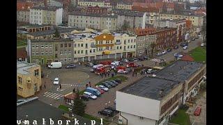 Na wstecznym przejechała kobietę. Zobacz pełne nagranie z wypadku na Sienkiewicza w Malborku