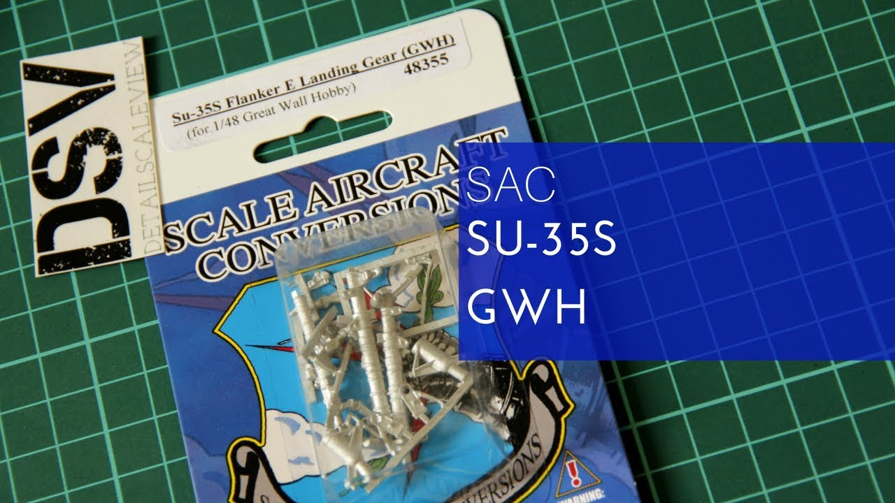 SAC 1/48 Su-35S (GWH) (48355) Review