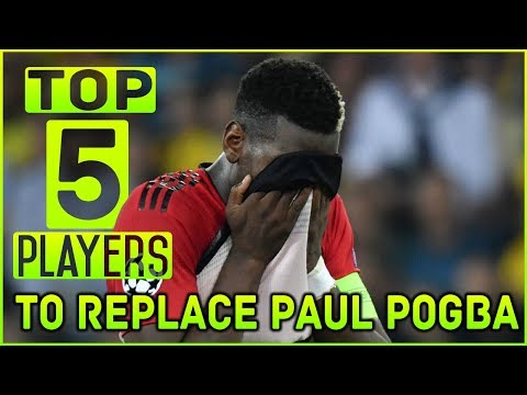 TOP 5 Players Who Could Replace PAUL POGBA At MANCHESTER UNITED ft Kroos & Ruben Neves Mp3