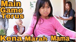 drama | gara2 ngegame marsya kena marah mamah