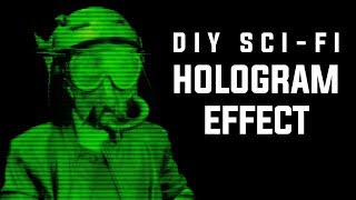 STAR WARS STYLE HOLOGRAM: HOW TO DIY SCI-FI