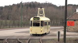 Blackpool Trams - Towing Car 280 at Beamish