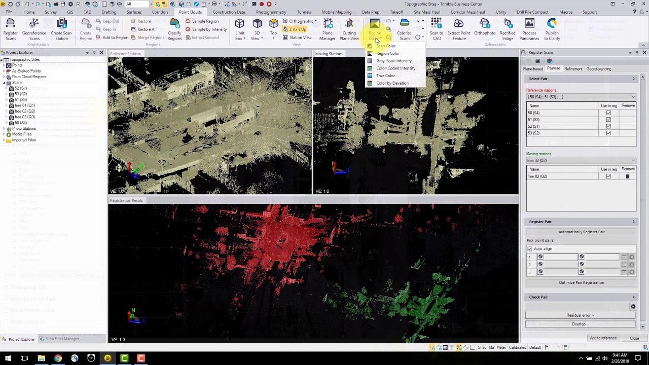 Topo Scanning Tutorial: Trimble Access, SX10, TBC and Civil 3D