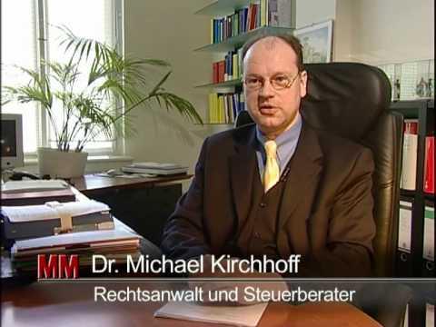 Bürofilm Dr. Michael Kirchhoff Kanzlei Potsdam