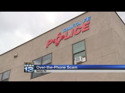 Santa Fe Police warn residents of phone scam