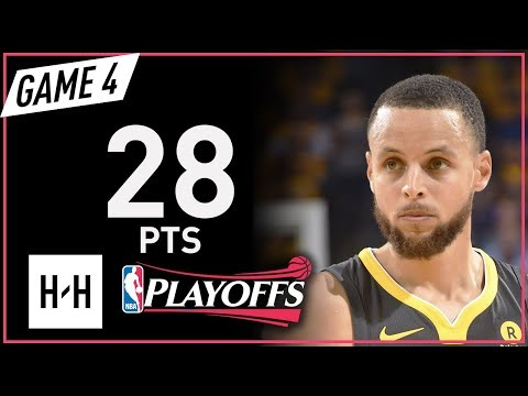Stephen Curry Full Game 4 Highlights Rockets vs Warriors 2018 NBA Playoffs WCF  28 Pts!