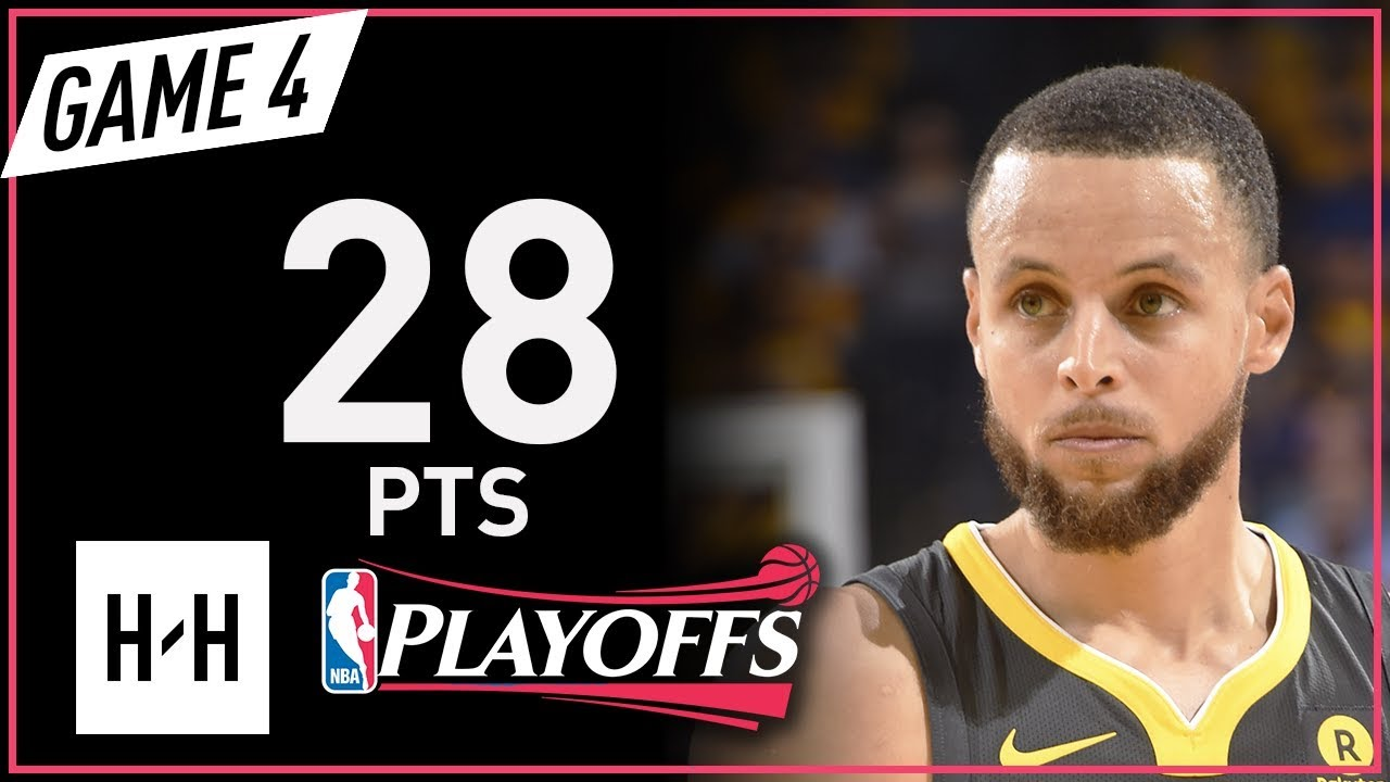 dcbcebfb6a4c Stephen Curry Full Game 4 Highlights Rockets vs Warriors 2018 NBA Playoffs  WCF - 28 Pts!