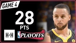 Stephen Curry Full Game 4 Highlights Rockets vs Warriors 2018 NBA Playoffs WCF - 28 Pts!