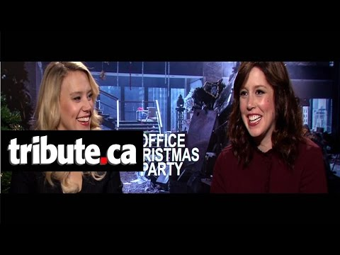 Kate McKinnon & Vanessa Bayer - Office Christmas Party Interview