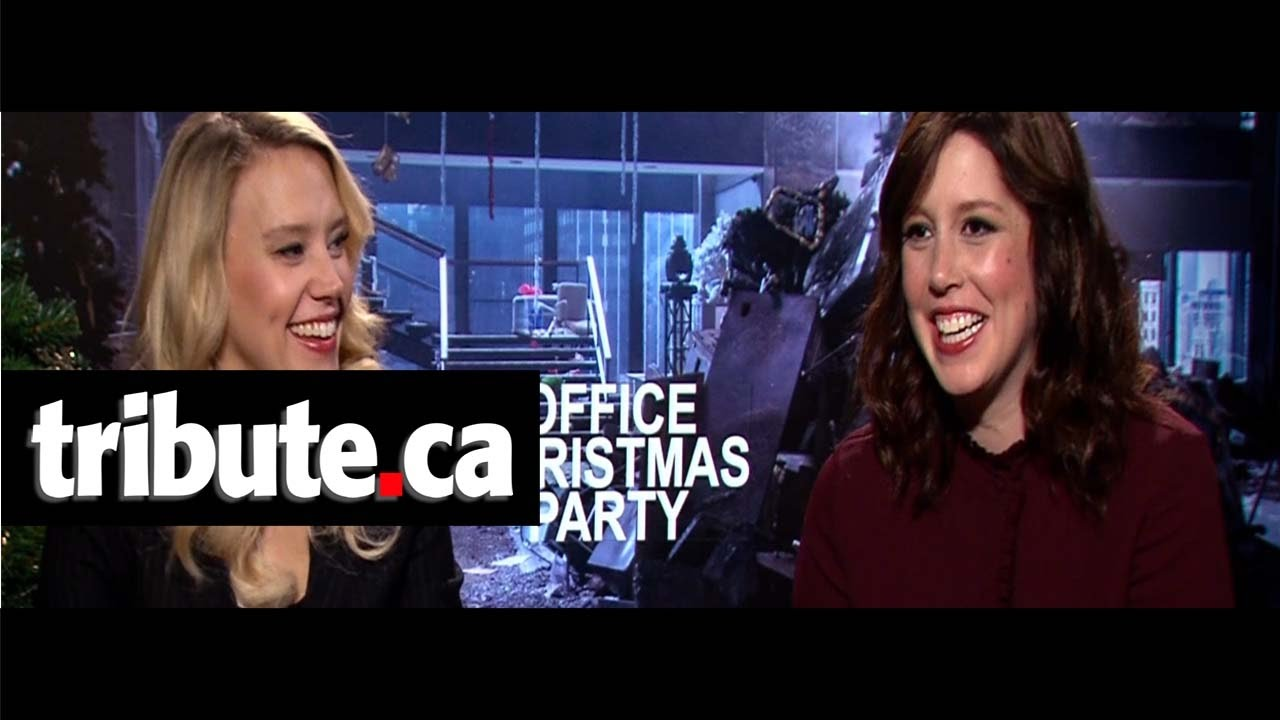 Kate McKinnon & Vanessa Bayer - Office Christmas Party Interview ...