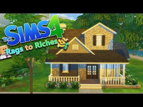 NEW FAMILY HOME | The Sims 4 Rags to Riches Ep.14