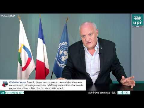 François Asselineau répond en direct aux questions des internautes