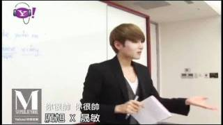110611 Yahoo! Music Taiwan - Ryeowook and Sungmin