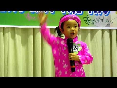 Bé Thủy Tiên Mầm 2 hát Sắp đến tết rồi hội thi Karaoke Tiếng Hát Trẻ Thơ 2014