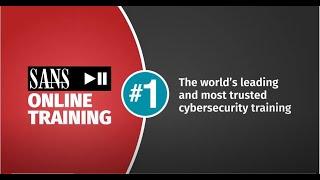 SANS OnDemand Cyber Security Courses