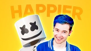 DanTDM Sings Happier
